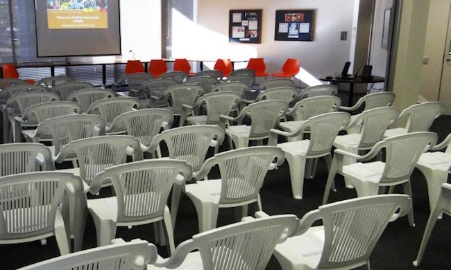 Boardroom - lecture seating arrangement