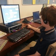 Narrogin PS student uses software to edit his sounds into music