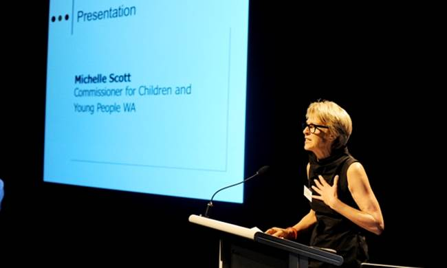 Michelle Scott, Commissioner for Children and Young People
