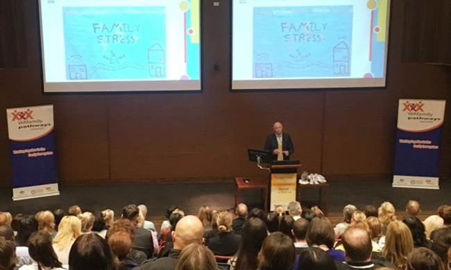 Commissioner Colin Pettit speaking at the Family Pathway WA conference, 26 May 2016