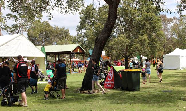 Meerilinga's Children's Week event at Whiteman Park, Perth