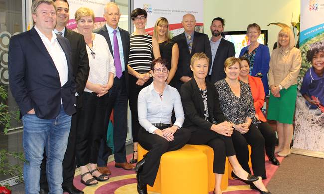 Australian Children's Commissioner and Guardians group